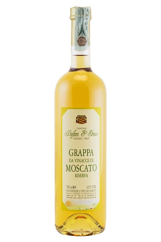 Vendita online Grappa di Moscato.